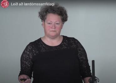 Fræðsluerindi: Leið að lærdómssamfélagi